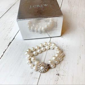 Jcrew pearl bracelet // women